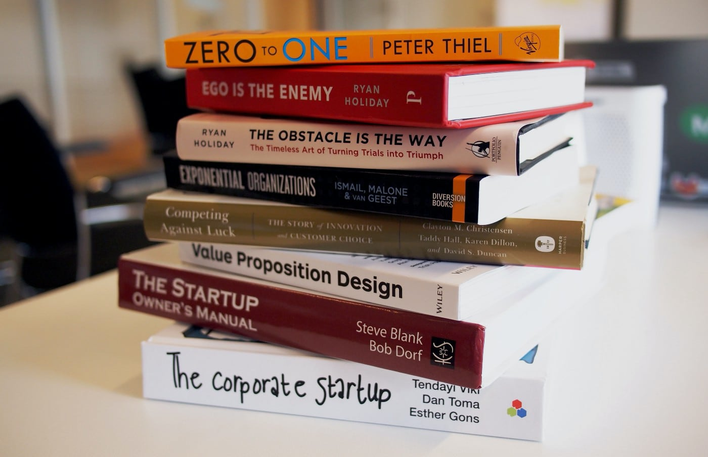books, early-stage, startups, knowledge